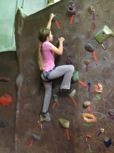 Summer Camp Fun, Rock Climbing at Stone Age Climbing Gym