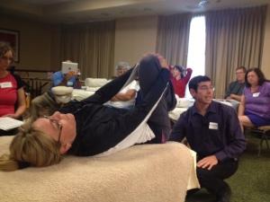 Orthopedic Massage demonstrations