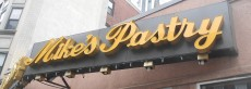 Mike's Pastry, North End, Boston There is usually a line out the door, but it moves fast