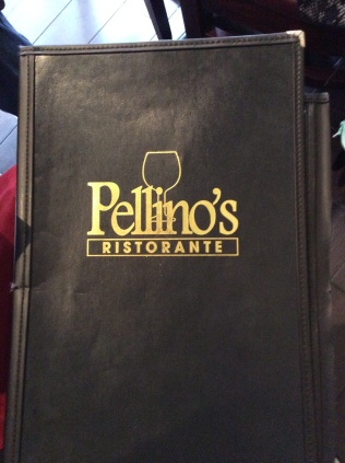 Lunch at Pellino's was a delicious Oasis on a Cold Day!